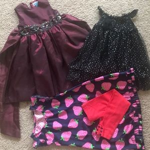 THE CHILDREN'S PLACE bundle girl 3T,dresses!!FIRM